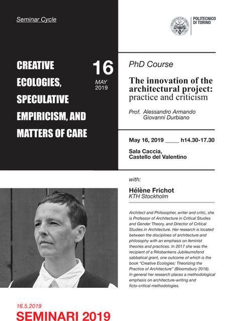 Creative Ecologies, Speculative Empiricism, and Matters of Care