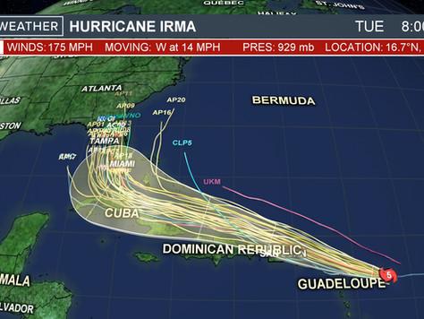 Keeping an Eye on Hurricane Irma