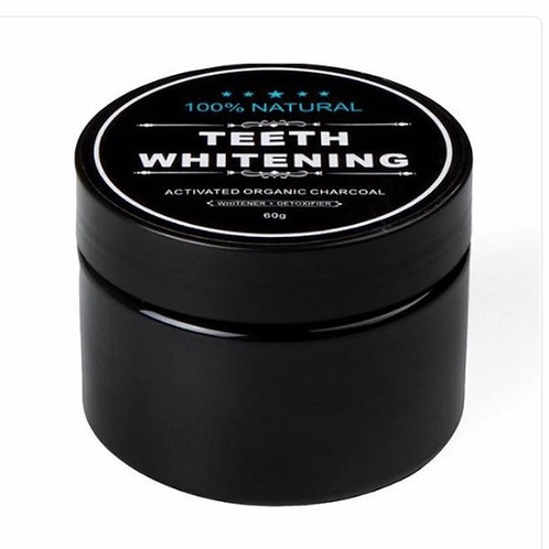 Organic Charcoal TeethWhitening Powder