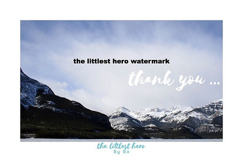 Thank You Greeting Cards (pkg of 10)