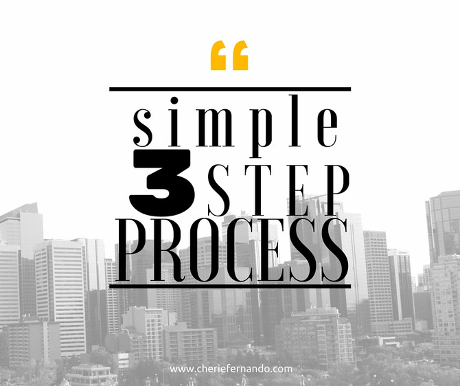 3 Step Process to Buying a Home