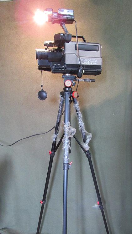 Luminária de Canto Filmadora Vintage e Tripé