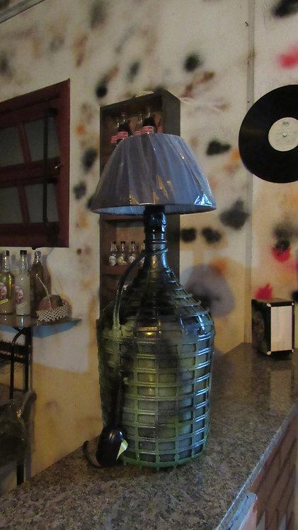 Abajur Garrafão de Vinho