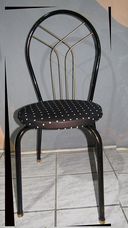 Cadeira de Ferro com Assento Espuma