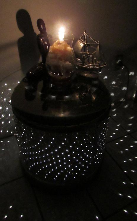 Mesa de Canto com Luz (Tanque Inox Lavadora)
