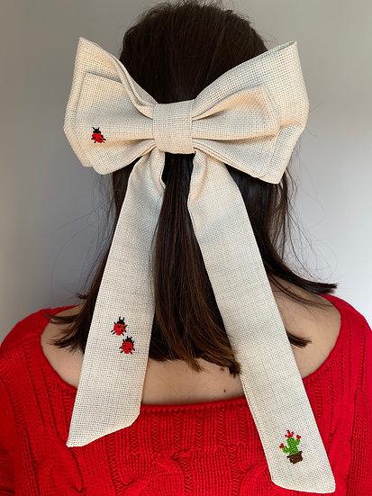 Lady Bug Hair Bow