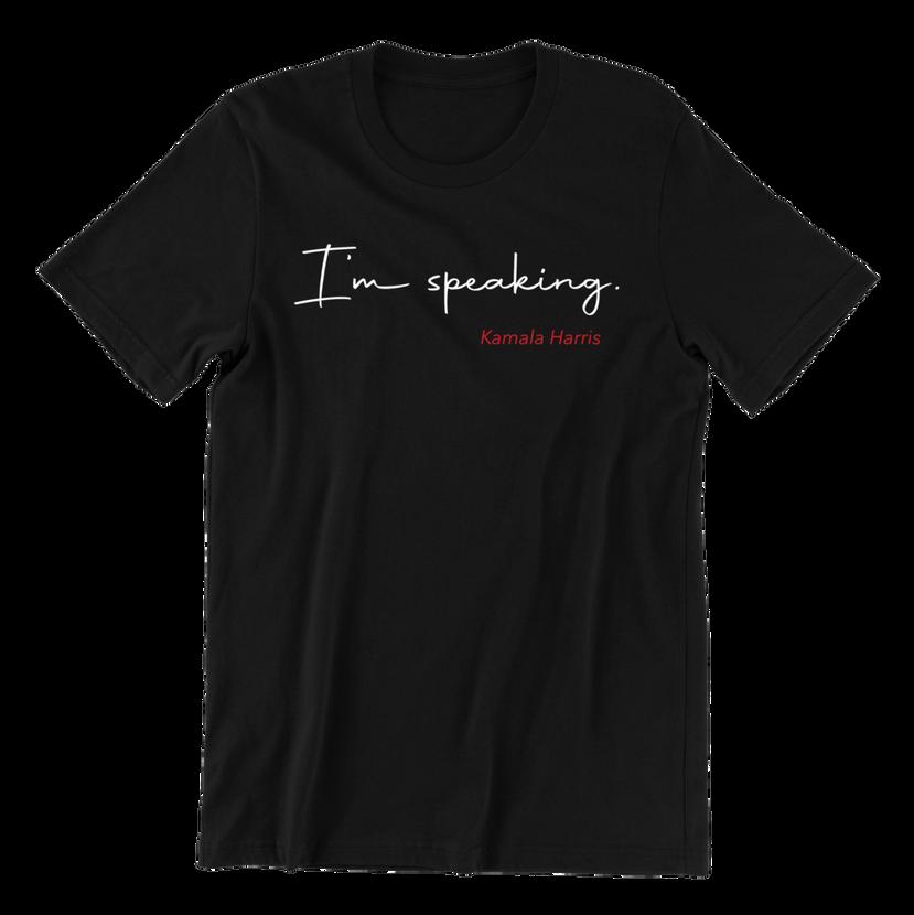I'm speaking tee
