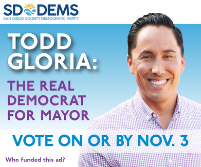 Todd Gloria Display Ad