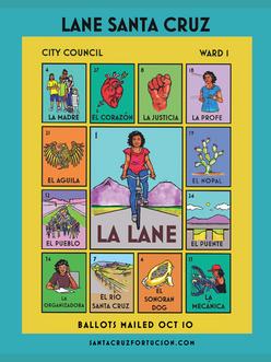 Lane Santa Cruz Mail Piece