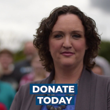 Katie Porter Direct to Donate Social Ad