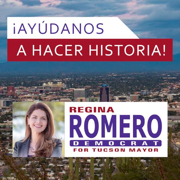 Regina Romero Instagram Ad