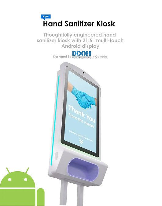 Welcome Kit - Sanitizer Kiosk DOOH Media