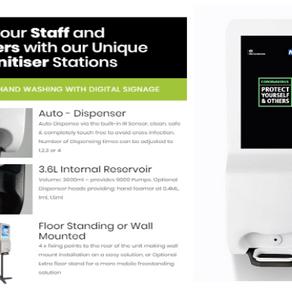 DOOH Media Solutions Releases New Hand Sanitizer Digital Display To Help Combat Coronavirus COVID19