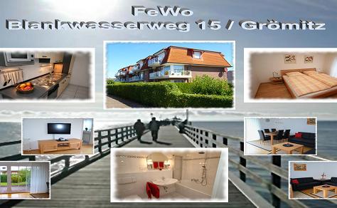 TOP FeWo für 4 Personen in Grömitz mit eigenem Garten - sichern Sie sich jetzt noch die Lücken Mai -
