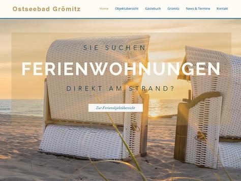 DANKE - Über 15.000 Klicks auf unserer  FeWo-Homepage www.relaxen-in-groemitz.de für strandnahe Feri