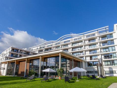 Grömitz (Ostsee): Absolut TOP 2-Zimmer FeWo (Hotelapartement) in der Carat Residenz - unmittelbar am