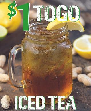 SFCC TOGO Iced Tea July 1- Aug 31, 2021