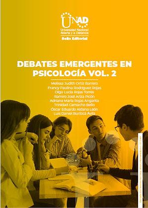Debates emergentes en psicología Vol. 2