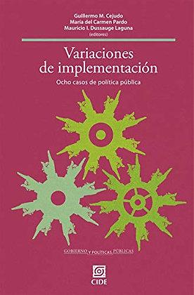 Variaciones de Implementación de políticas públicas