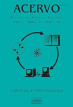 Revista Acervo v. 17 n. 2 - Ciência e Tecnologia