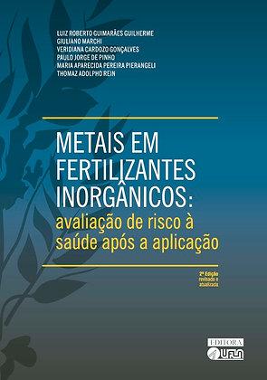 Metais em Fertilizantes Inorgânicos: avaliação de risco à saúde após a aplicação