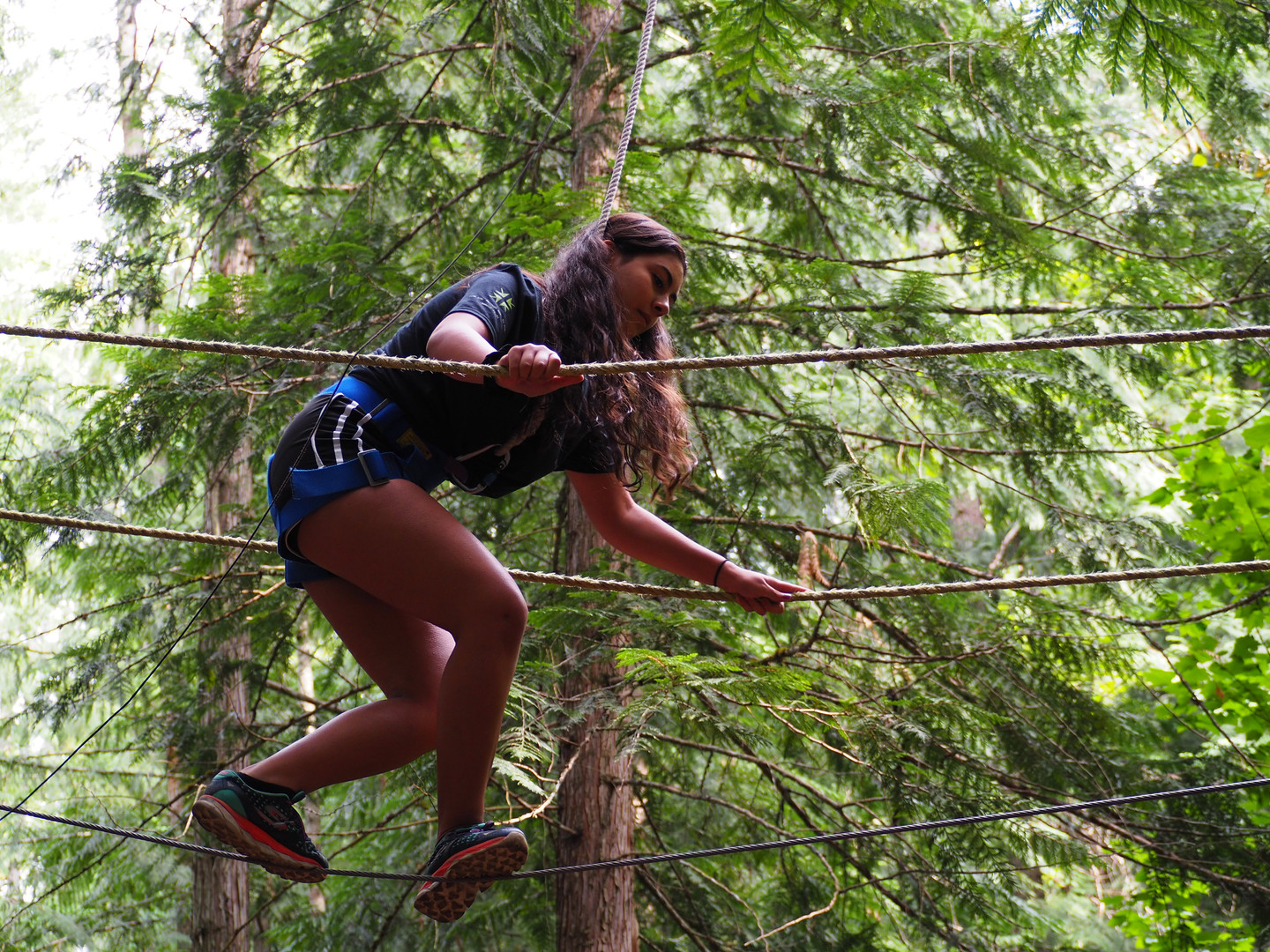 1:15PM ELECTIVES (HIGH ROPES)