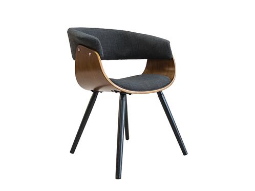 Kepler Dining Chairs Walnut Veneer