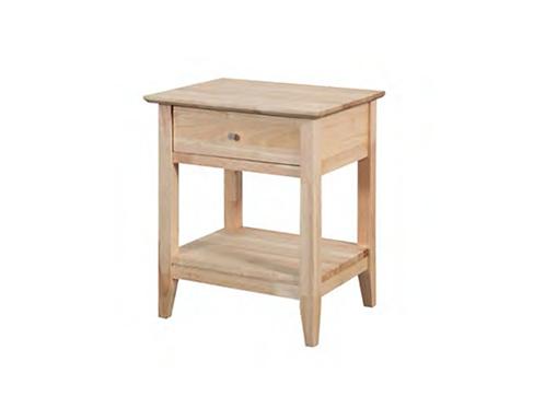 Quadrat Bedside Table
