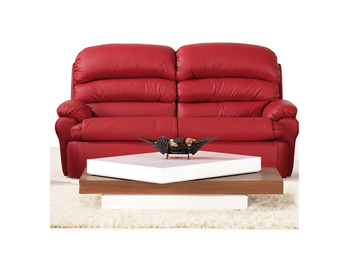 Terri Leather 2.5 seater twin recliner