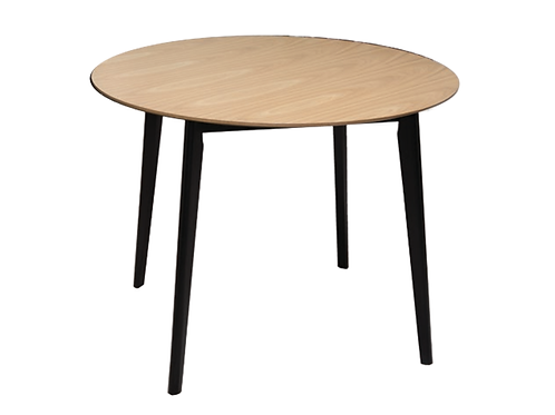 Loft Round Dining Table Oak
