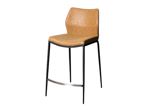 Spencer Barstool Rust PU