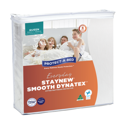 Staynew Smooth Dynatex Fitted Waterproof Mattress Protectors Range