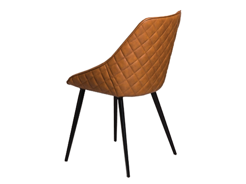 Ashley Dining Chairs - Rust PU