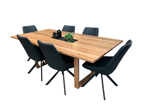 Sorrento Messmate Dining Table 2100 + 6 Toledo Chairs