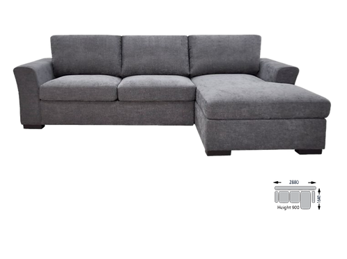 Ashleigh Lounge with Sofa Bed and Storage