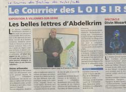 scan article le Courrier des Yvelines481