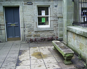 Stone Bench outside Lodge.jpg