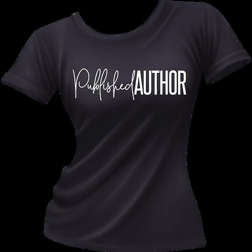 Published Author Tee (Black)