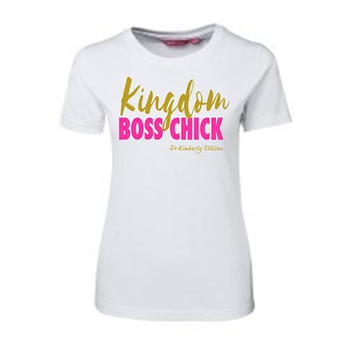 Kingdom Boss Chick T-Shirt