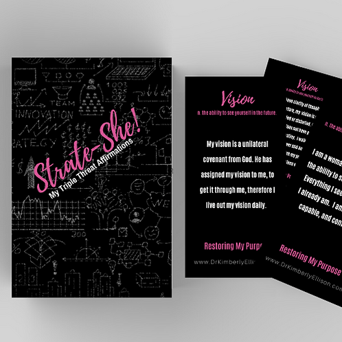 Strate-she Affirmation Cards