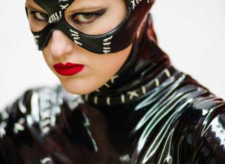 Catwoman hits Belfast