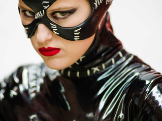 Catwoman hits Belfast