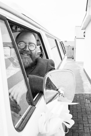 The chauffeur Vw camper