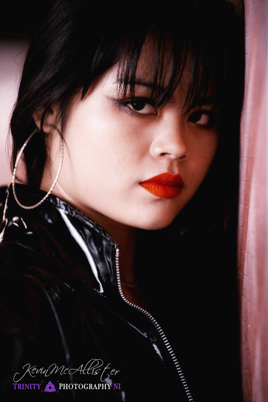 portrait shot of hai model