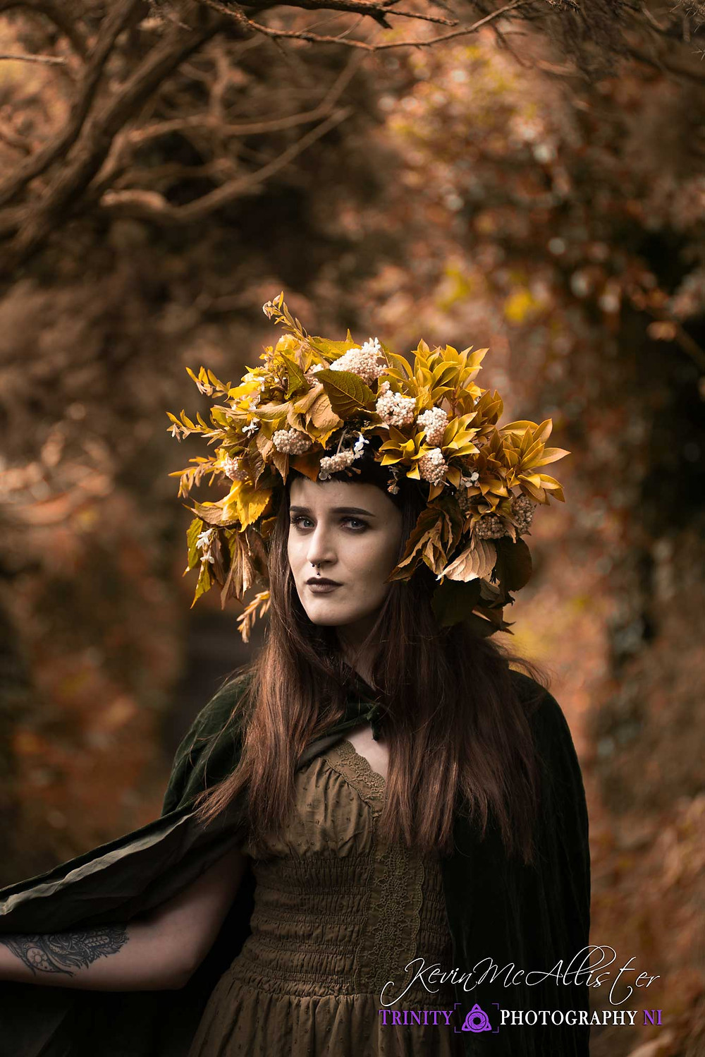 autumnal colour sorcerer in ireland