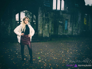 Portfolio shooting with Carly McVeigh Model