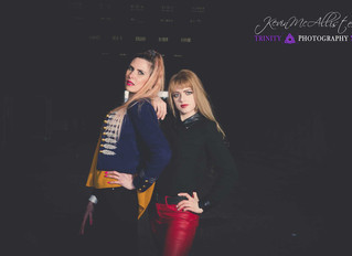 Belfast Portfolio shoot with Julita & Estee