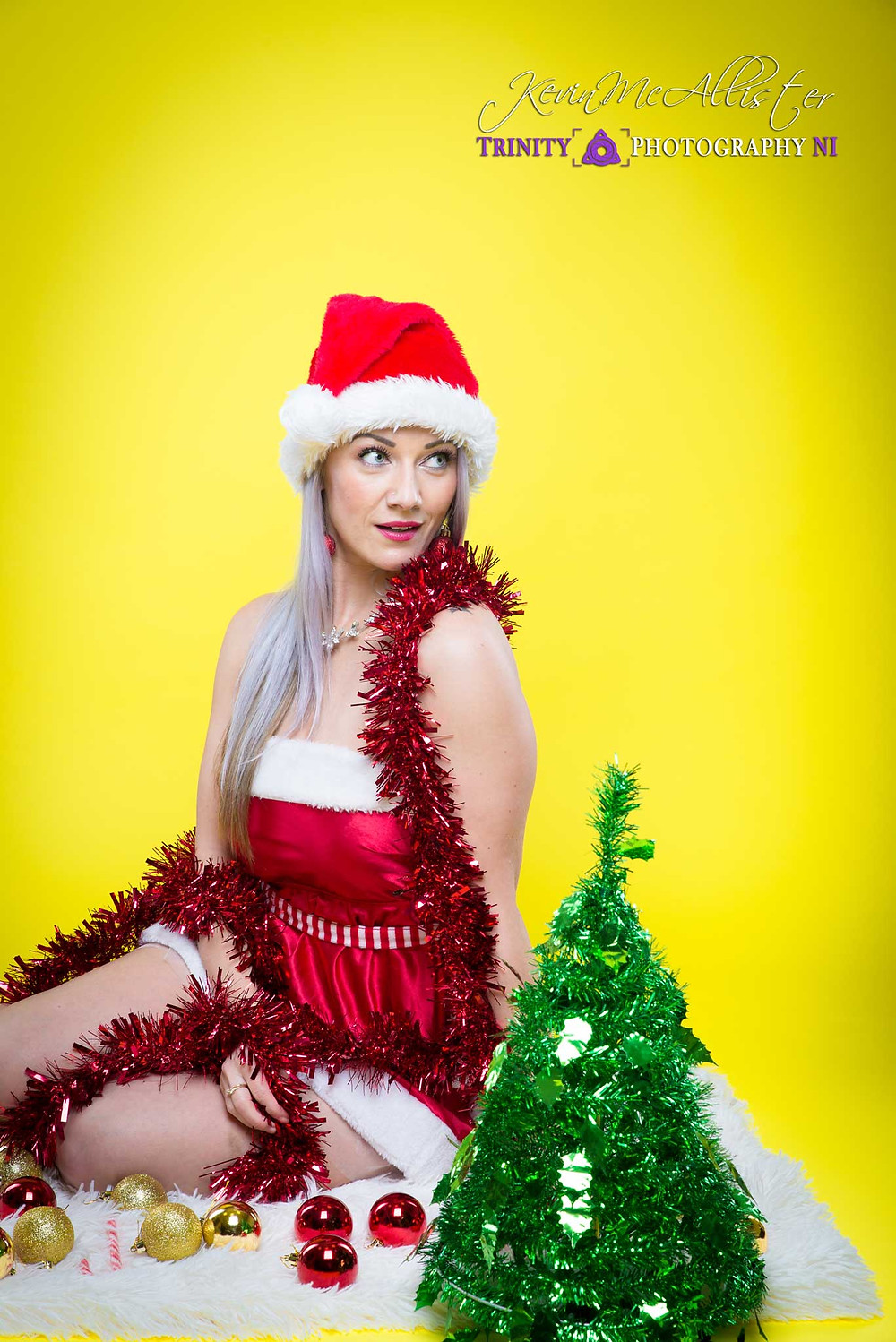 model christmas outfit photoshoot