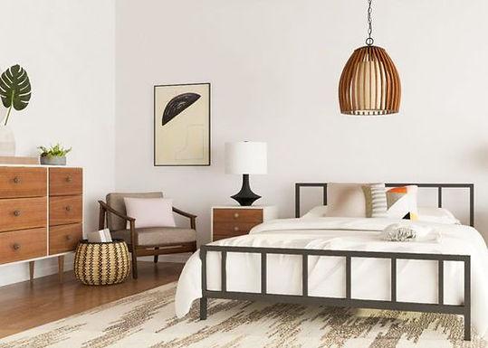 Mid-Century Modern Yatak Odaları
