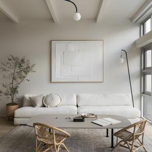 Minimal Oturma Odası